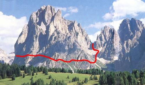 Passo Sella Rifugio Passo Sella Rifugio Demetz